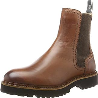 Marc O'Polo Flat Heel Bootie 70714156001308, Botas para Mujer, Gris, 40.5 EU