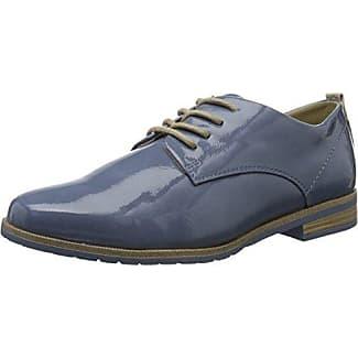 Marco Tozzi 23727, Zapatos de Cordones Oxford para Mujer, Rosa (Rose Met. Comb), 36 EU