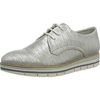 Peter Kaiser Elli, Zapatos de Cordones Brogue para Mujer, Grau (Silber CHIO Notte Sohle 873), 36 EU