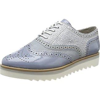 Marco Tozzi 23705, Zapatos de Cordones Brogue para Mujer, Rosa (Rose Met. Comb), 39 EU