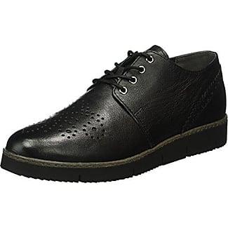 Marco Tozzi 23202, Zapatos de Cordones Oxford para Mujer, Gris (Lt.Grey Metal.), 42 EU