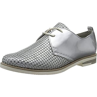Louis Norman Deusaz, Zapatos de Cordones Brogue para Mujer, Dorado, 41 EU