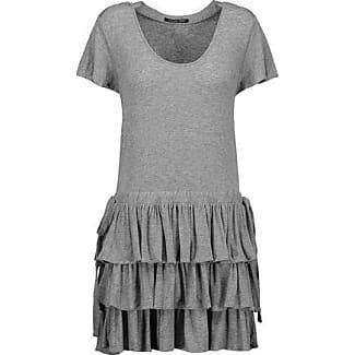 Marissa Webb Woman Kera Ruffled Printed Silk Mini Dress Navy Size XS Marissa Webb
