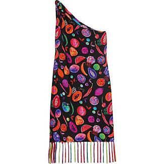 Matthew Williamson Woman Sakura Embroidered Silk Crepe De Chine Top Teal Size 6 Matthew Williamson