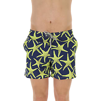 Swim Shorts Trunks for Men On Sale, Light Blue, polyester, 2017, S L XL MC2 Saint Barth