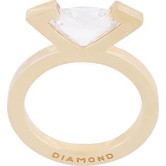 Mehem crystal set of rings - Metallic