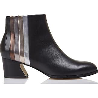 Boots à talons cuir bandes dégradéesMellow Yellow