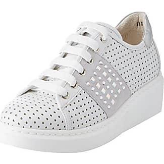 MELLUSO Donna-Walk Techno, Zapatillas para Mujer, Rosa (Salmone Salmone), 36 EU