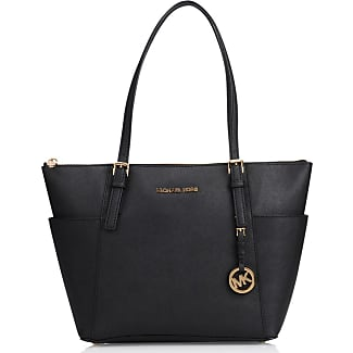 Michael Michael Kors Cabas vertical Emry zippé Center Stripe