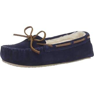 Cally 4014, Zapatillas Bajas Mujer, Azul (Dark Navydark Navy), 36 EU Minnetonka