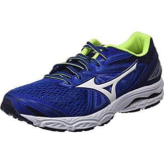 Mizuno Wave Prodigy, Zapatillas de Running para Hombre, Multicolor (Safetyyellow/Bluedepths/Silver), 44.5 EU