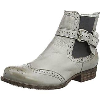 Moda in Pelle Damen Calisi Chelsea Boots, Braun, 37 EU