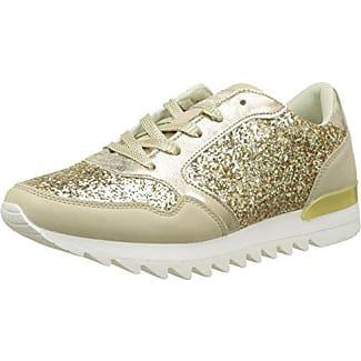 Molly Bracken Basket Paillette, Sneaker Donna, Oro (Gold), 41 EU