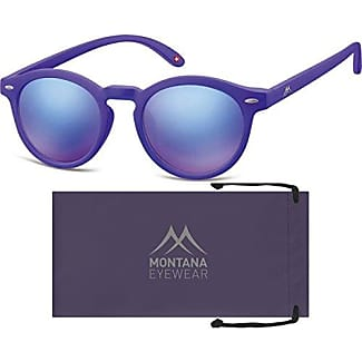 Montana MS33, Occhiali da Sole Unisex-Adulto, Multicolore (Purple + Revo Gold/Pink), Taglia unica
