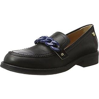 W.Shoe, Mocasines para Mujer, Negro (Black/Black), 38 EU Love Moschino