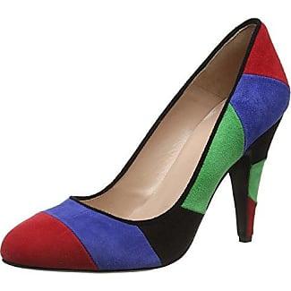 Marco Tozzi 22432, Zapatos de Tacón para Mujer, Azul (Navy Metallic 824), 38 EU