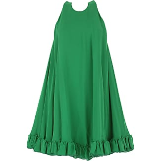 Dress for Women, Evening Cocktail Party On Sale, Green, poliestere, 2017, UK 6 - US 4 - EU 38 UK 8 - US 6 - EU 40 Msgm
