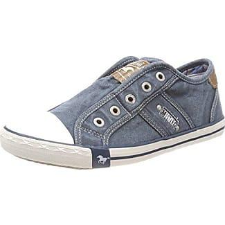 Mustang 1099-401-807, Zapatillas Sin Cordones Para Mujer, Azul (himmelblau), 37 EU