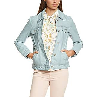 Mavi Zip UP Jacket, Chaqueta Bomber para Mujer, Azul (Iced Aqua 23698), Small