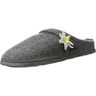 Nanga Rockery, Zapatillas de Estar Por Casa para Mujer, Grau (Mittelgrau), 42 EU