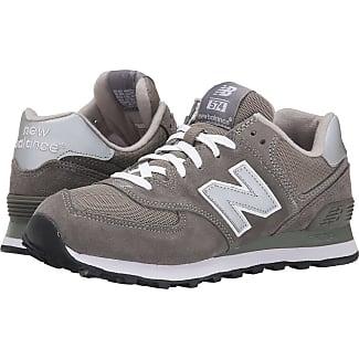 New Balance Classics M574 (Gray/Silver/White) Mens Classic Shoes
