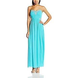 Robe bleu turquoise soiree
