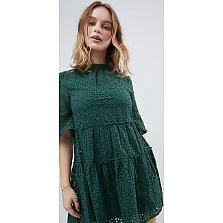 New Look Cutwork Broderie Smock Dress