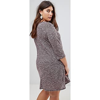 New Look Curve Longline Tunic - Burgundy New Look Plus