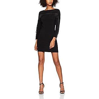New Look Ribbed, Vestido para Mujer, Negro, ES 40 (UK 12)