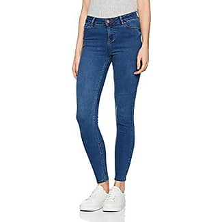 New Look Superskinny London - azul Mujer, Azul (Blue Patterned), 34 (Talla del fabricante: 6)