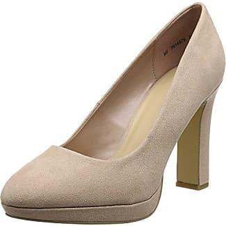 Marco Tozzi - Zapatos de Vestir de Tela para Mujer, Color Plata, Talla 40