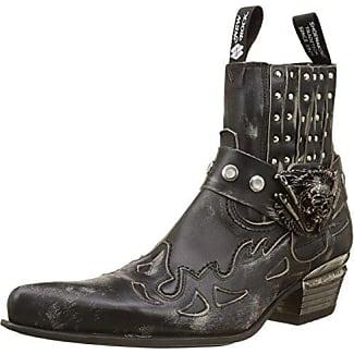 M-NW133-S5, Bottines Classiques Homme, Noir (Black), 45 EUNew Rock