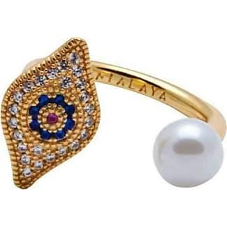 Nialaya Panther Ring in Gold - UK L - US 5 1/2 - EU 51 3/4