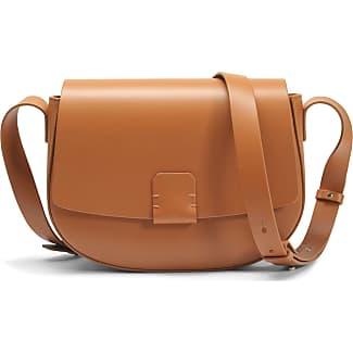 Lobivia Large Crossbody Bag in Brown Calf Leather Nico Giani