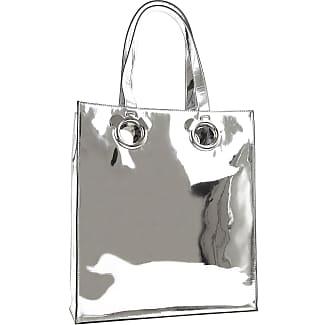 Shoulder Bag for Women, Silver, Patent, 2017, one size NICOPANDA