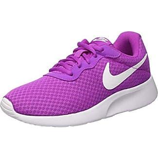 Nike Wmns Tanjun, Zapatillas Mujer, Morado (Hyper Violet/White), 39 EU