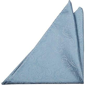 Pocket Square - Blue Big paisley - Notch CAESAR Notch