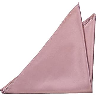 Pocket Square - Light pink interwoven with white Notch