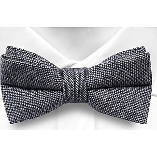 Pre tied bow tie - Blue Paisley - Notch MAXIM Notch
