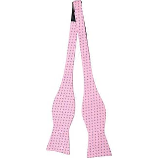 Self tie bow tie - Pink Shadowed dots - Notch STELIOS Notch