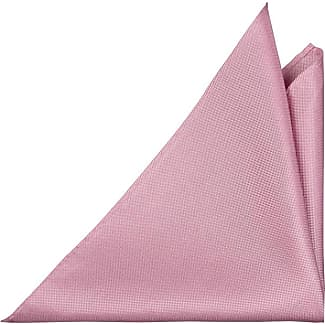 Handkerchief - Creamy pink (light mauve) silk knit, white edges - Notch GAUTIER Notch