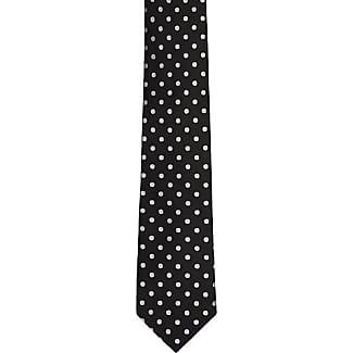 Necktie - Navy moss knitted silk with red polka dots - Notch STEWART Notch