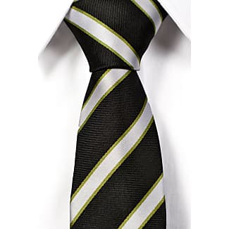 Tie from Tieroom, Notch OTTO slim, olive green base & paisley shade in shade Notch