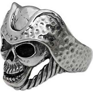 Snake Bones Phantom Skull Ring in Sterling Silver - UK Q - US 8 - EU 57 3/4
