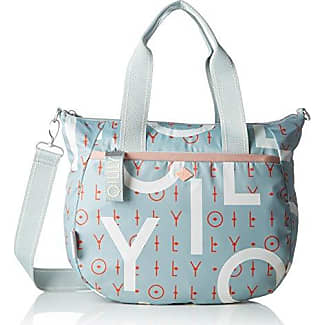Fun Canvas Handbag Mhz, Womens Bag, Grey (Light Grey), 12x27x38 cm (B x H T) Oilily