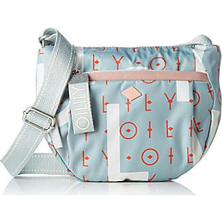 Jolly Letters Shoulderbag Svz, Womens Shoulder Bag, White (Offwhite), 9x20x17 cm (B x H T) Oilily