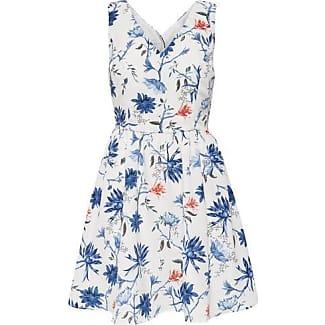 Kleid only blau punkte