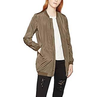 Only Onlfinley Ls Zip Hood Sweat Rfl, Chaqueta para Mujer, Verde (Scarab), 36 (Talla del fabricante: Small)