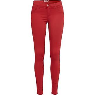 Damen jeans in rot
