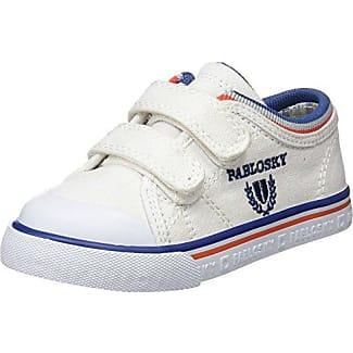 Pablosky 267902, Zapatillas para Niños, Blanco, 25 EU